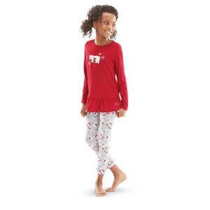 American Girl Pajamas Girls Polar Bear Sz S 7-8